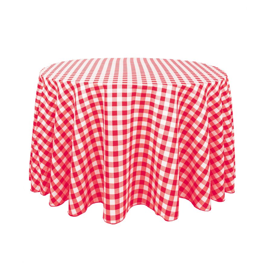 P090 CHECKERED TABLE CLOTH R20 each to hire QUANTITY: 4