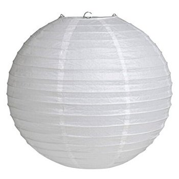 P079 WHITE CHINESE LANTERN R15 each to hire