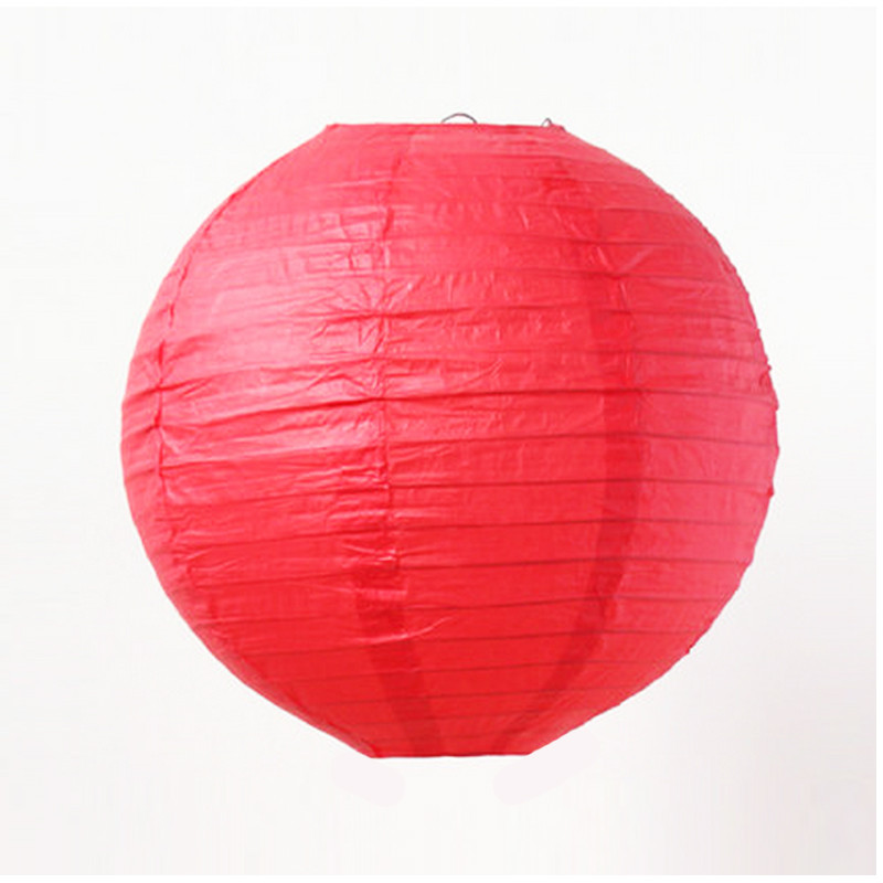 P079 RED CHINESE LANTERN R15 each to hire