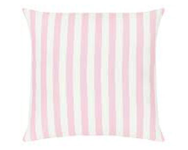 KZN034 – PINK AND WHITE STRIPED CUSHION (R20 each to hire)