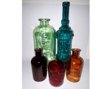 KZN095 BOHO VASES<br/>(R10 each to hire)