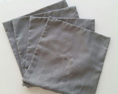 KZN045 &#8211; Grey cushion covers <br/>(R25 each to hire)