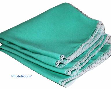 KZN021 – Teal napkin<br/>(R20 each to hire)