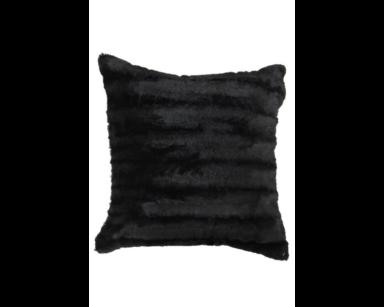 KZN027-VELBOA BLACK CUSHIONS (R25 each to hire)