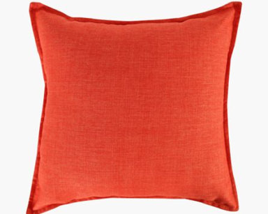 KZN032-ORANGE CUSHIONS (R25 each to hire)