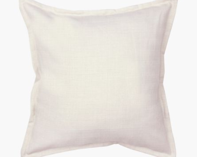 GP010 – WHITE CUSHION (R35 each to hire)