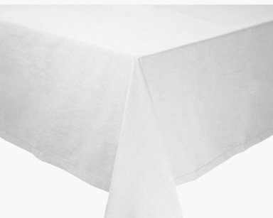 GP004 – WHITE SQUARE TABLE CLOTH (R40 each to hire)
