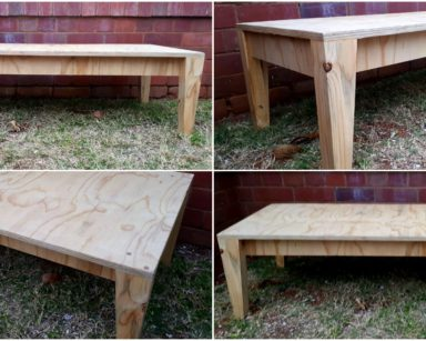 KZN043 – RAISED PICNIC TABLE (R150 each to hire)