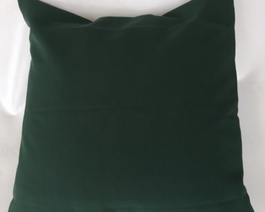 KZN060 – BOTTLE GREEN CUSHION (R25 to hire)