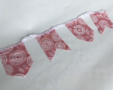 KZN050 – PINK LACE BUNTING (R35 to hire)
