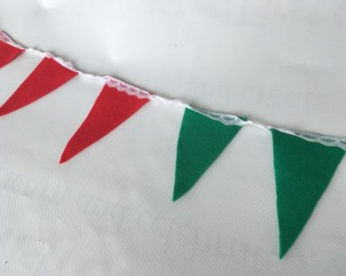 KZN052 – CHRISTMAS BUNTING (R35 to hire)
