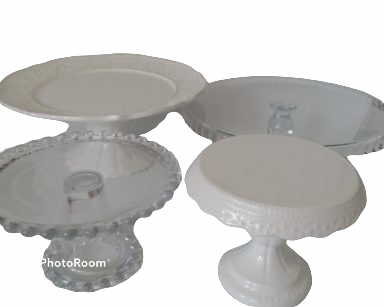 KZN034 – GLASS CAKE STAND (R30 to hire)
