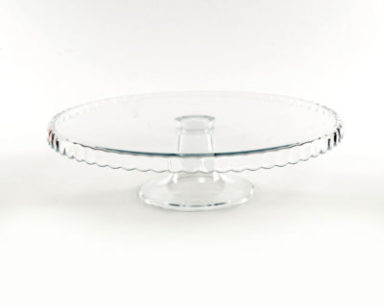 KZN039 – GLASS CAKE STAND (R30 to hire)