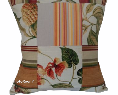 KZN058 – VARIETY OF PATCHWORK CUSHIONS (R25 each to hire)