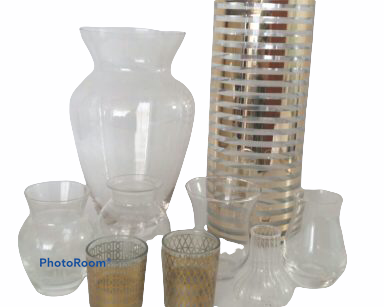 KZN063 – SELECTION OF VASES (R35 to hire)
