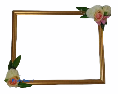 KZN060 – FLORAL PHOTOBOOTH FRAME (R55 to hire)