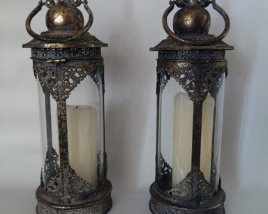 KZN068 – CANDLE HURRICANE HOLDERS (R120 each to hire)