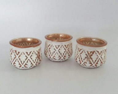 KZN074 – CANDLE VOTIVES (R8 each to hire)