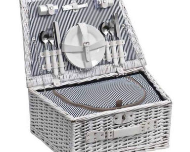 KZN072 – WHITE PICNIC BASKET (R90 to hire)