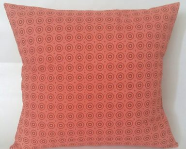 KZN084 – ORANGE SHWESHWE CUSHIONS (R20 to hire)